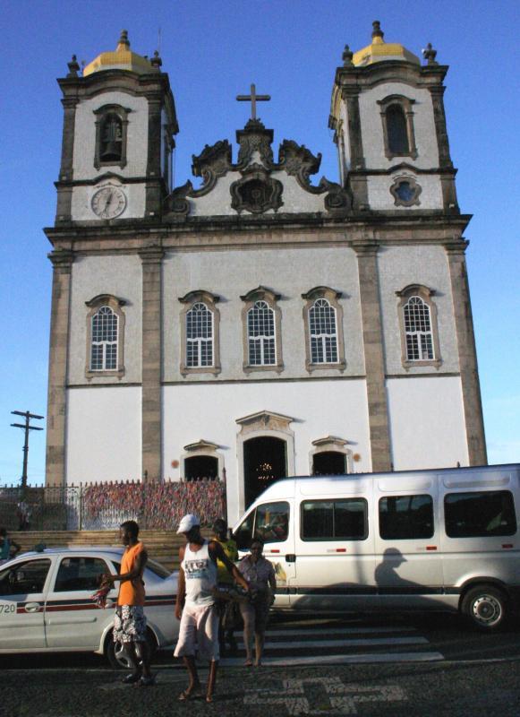 Igreja de Nosso Senhor do Bonfim, ponto turístico obrigatório