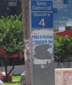 Dona Esmeralda, até as placas de endereçamento - foto acn_1.4.2011